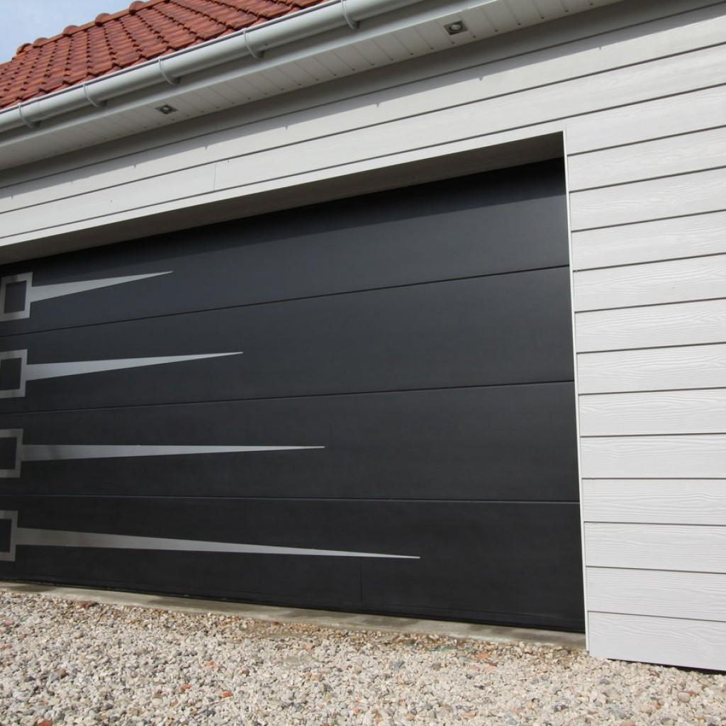 Porte de garage sectionnelles enrouleables bois alu pvc - Puertas de garaje seccionales baratas ...
